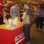 Samantha Bee Book Signing Borders DC