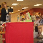Samantha Bee - Book Signing - Borders DC