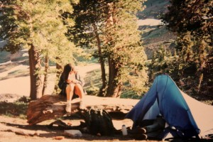 Jessica Sequoia National Park 1995 reading