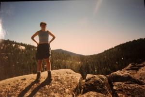 Jessica Sequoia National Park 1995 rock