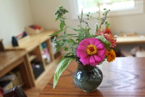 flower and herb bouquet