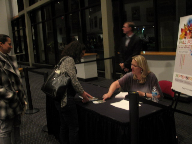 Jessica Haney at Cheryl Strayed book signing