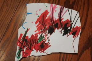 hand turkey toddler art