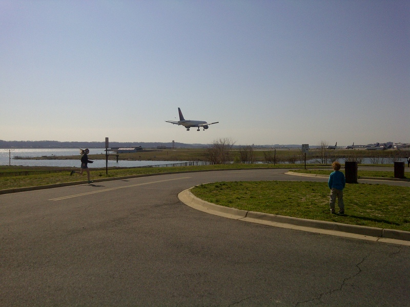 Gravelly Point Potomac River National Airport