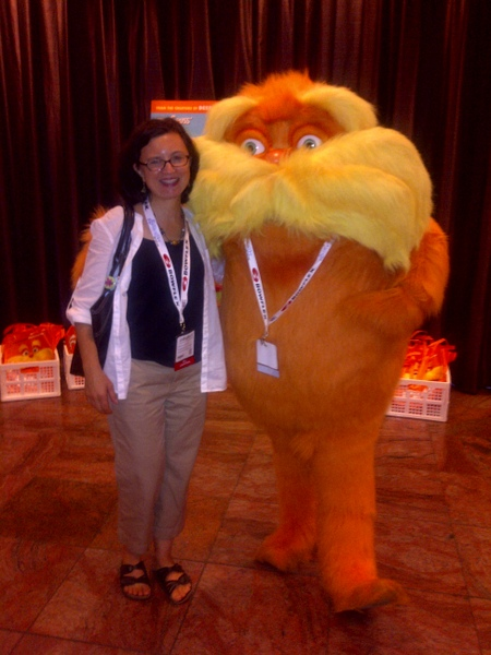 Crunchy-Chewy Mama and Lorax BlogHer '12