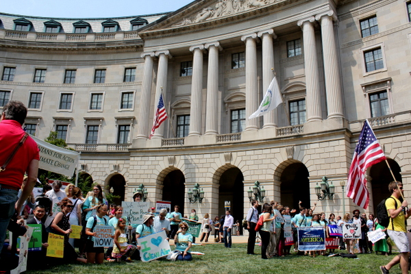 ActOnClimate EPA Moms Clean Air Force rally groups