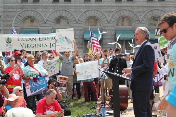 Senator Markey EPA ActOnClimate