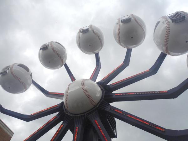 ferris wheel Comerica Park
