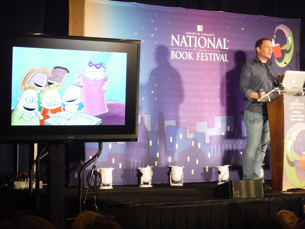 2014 National Book Festival Dav Pilkey 2