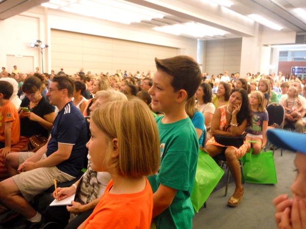 2014 National Book Festival Dav Pilkey audience