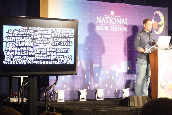 2014 National Book Festival Dav Pilkey