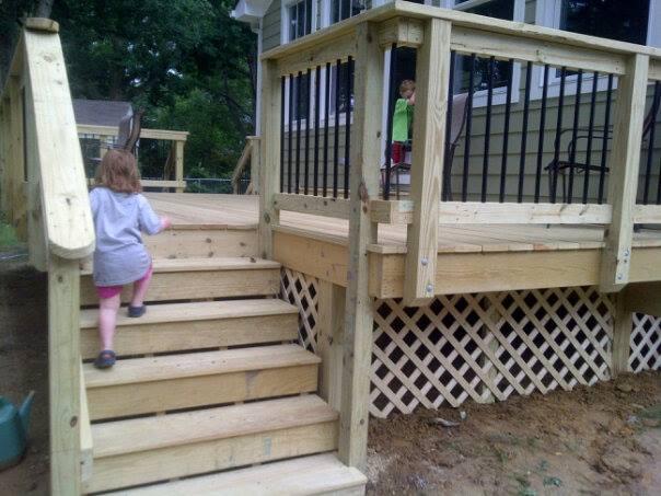deck built 2013