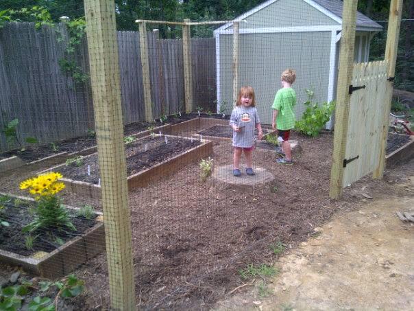 garden built april 2013