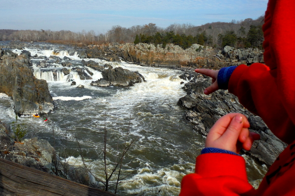 Great Falls Park falls overlook