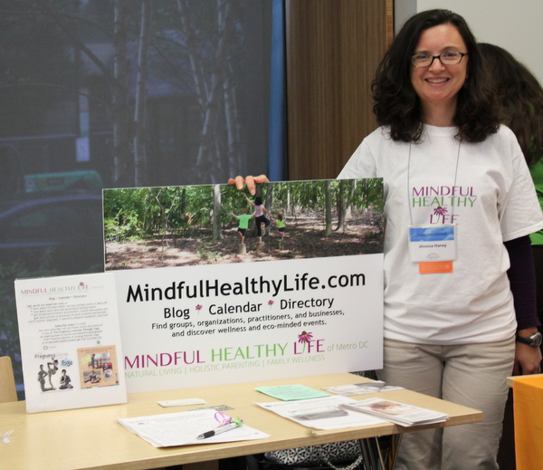Jessica Haney of Mindful Healthy Life at National Kids Yoga Conference