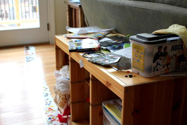 clutter CrunchyChewyMama.com
