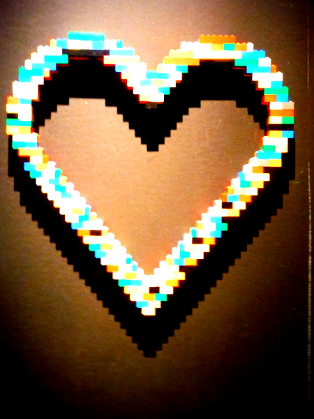 Art of the Brick - Heart