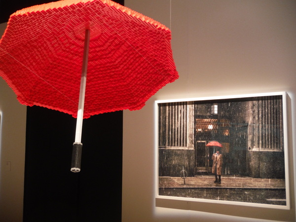 Art of the Brick - umbrella