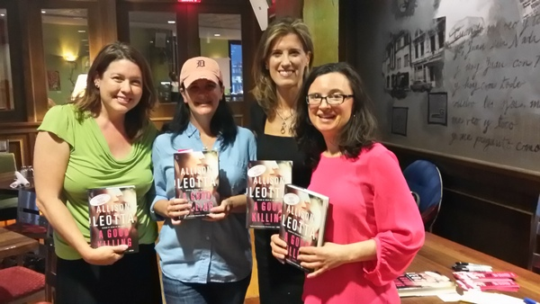 Allison Leotta book launch - A Good Killing