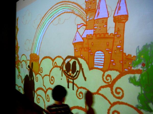 Crayola Experience Art Alive on screen 2