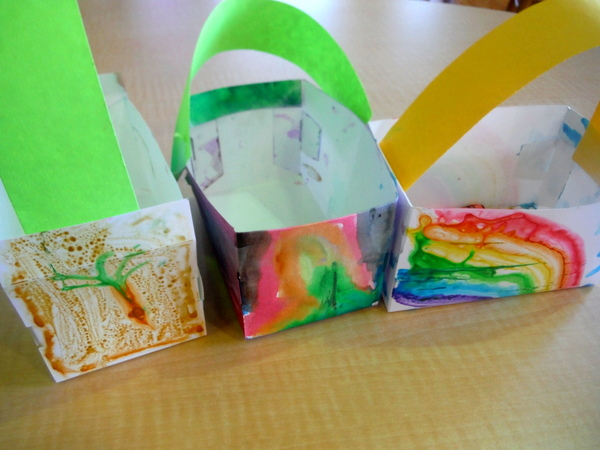 Crayola Experience Easter baskets