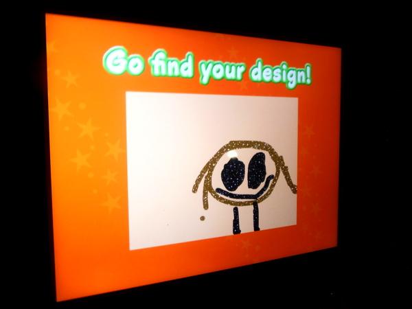 Crayola Experience - art alive - go find your design