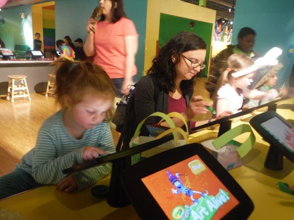 Crayola Experience - iPad Art Alive