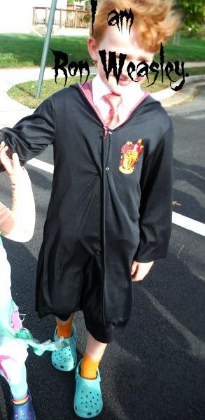 I am Ron Weasley