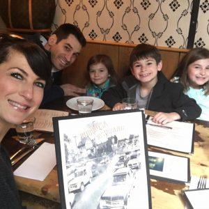 Jennifer Robins and family