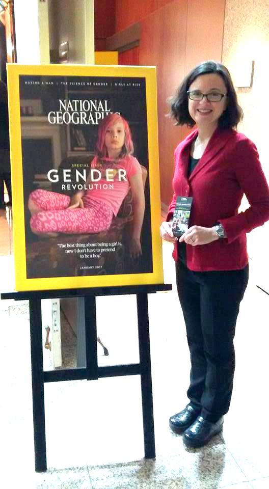 Gender Revolution Jessica Haney with cover of issue