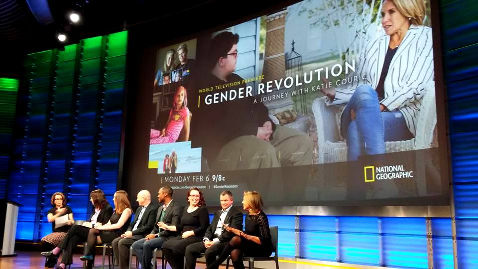 Gender Revolution panel with Katie Couric
