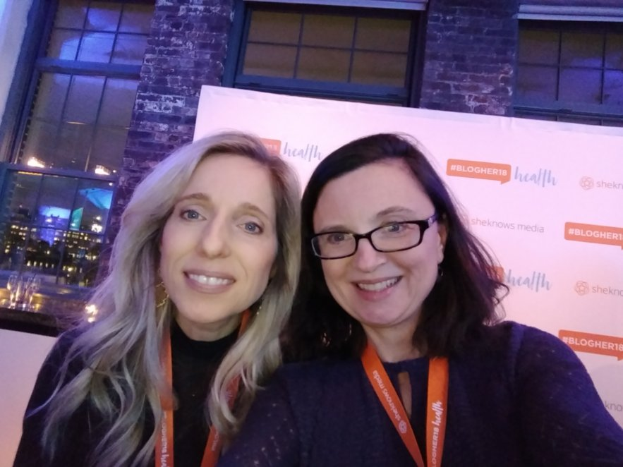 BlogHer18 Health - Mindful Healthy Life - Jessica Claire Haney and Amy Thomas