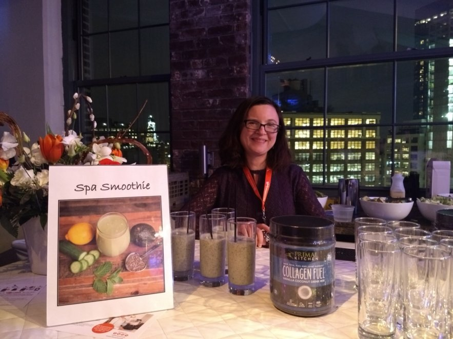 BlogHer18 Health - Mindful Healthy Life - Jessica Claire Haney with Primal Kitchen Spa Smoothie