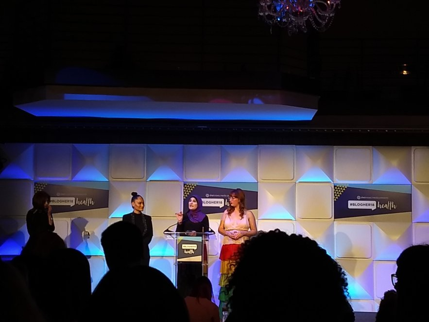 BlogHer18 Health - Mindful Healthy Life - Women's March organizers