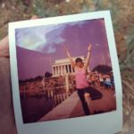 Yoga on the Mall 2019 polaroid Jessica Claire Haney